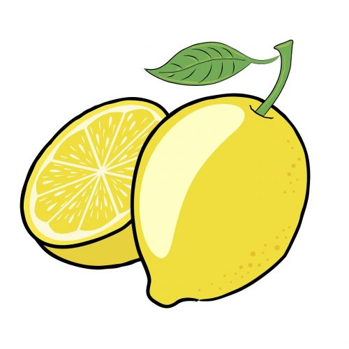 lemon fruit green