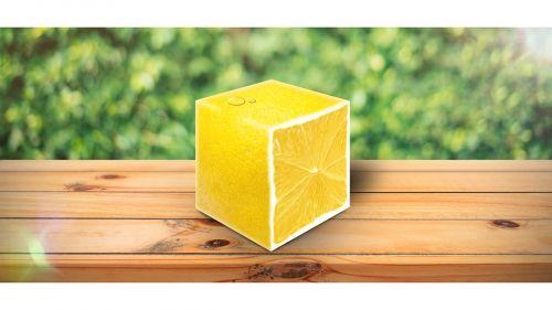 lemon the interior of the fruit yellow
