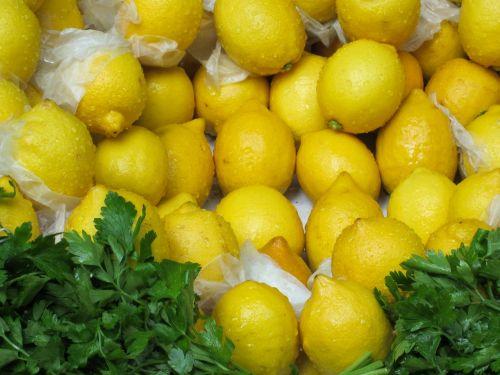 lemon citrus fruit yellow