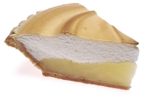 lemon meringue pie slice food