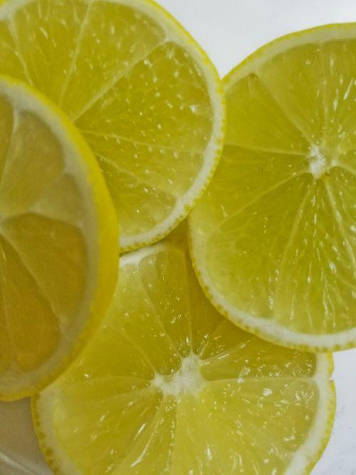 Lemon Slices Closeup