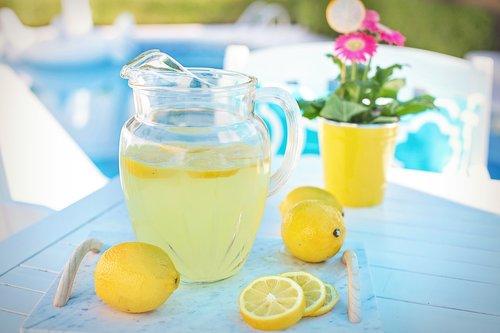 lemonade  lemons  poolside