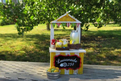 lemonade stand lemonade summer