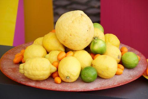 lemons lime citrus fruits
