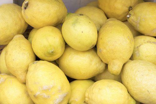 lemons citrus fruits yellow
