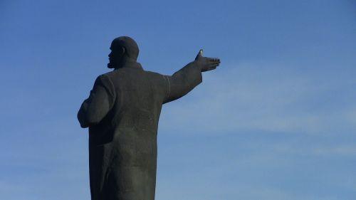 lenin russia monument