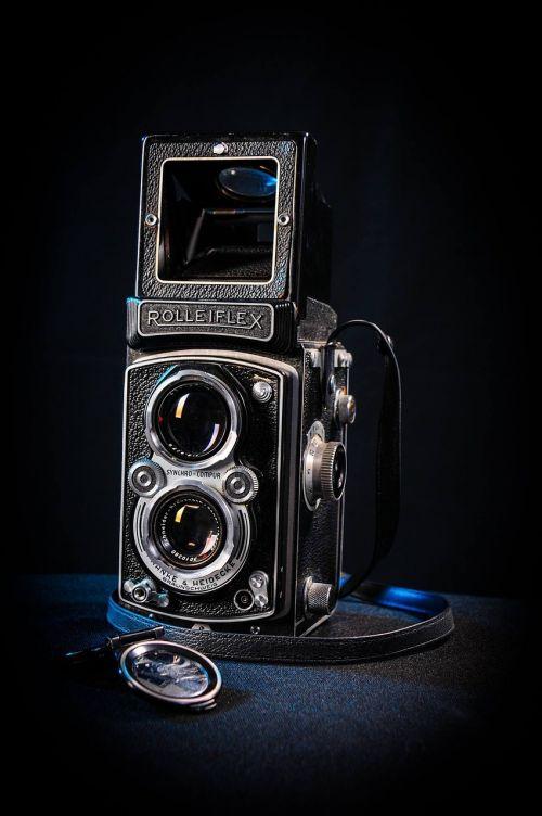 lens retro old