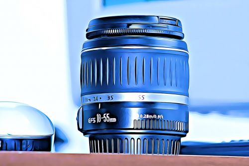 lens photography bottlecap