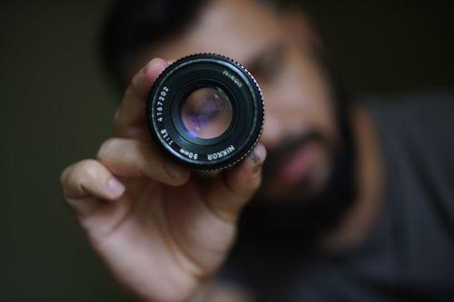 lens camera 50 mm