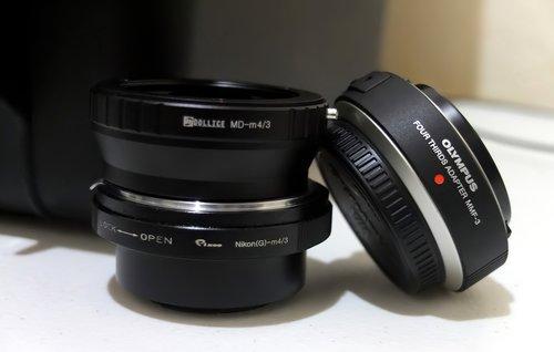 lens  equipment  adapter