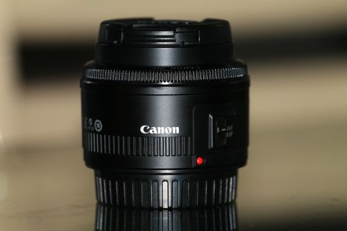 lens 50 mm canon