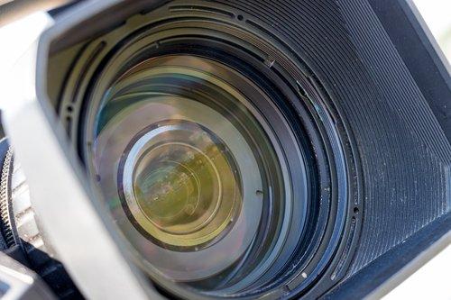 lens  video  camera