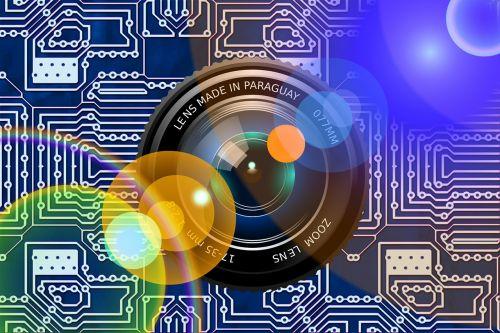 lens recording photography