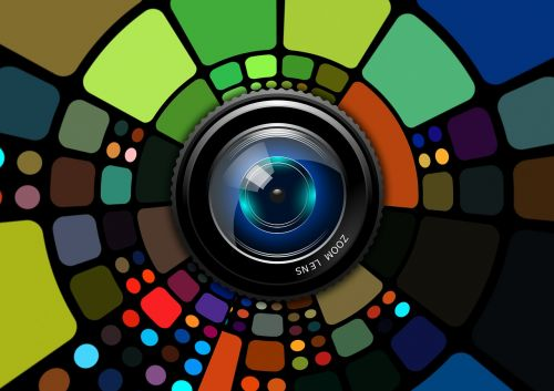 lens photography colorful