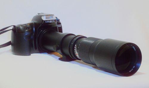 lens tele 500 mm