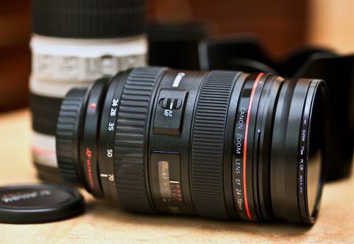 lens canon lens zoom lens