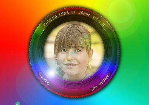 lens camera child