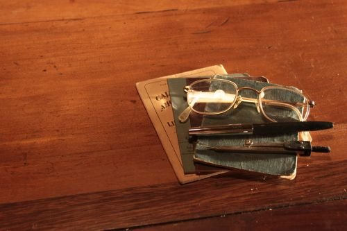 lenses old documents
