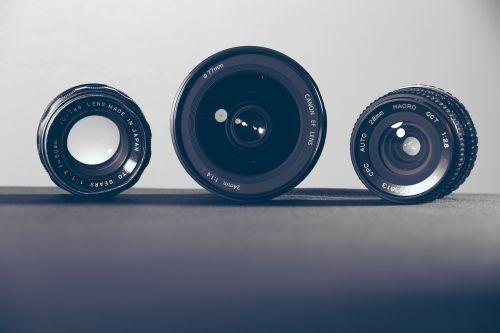 lenses camera photography