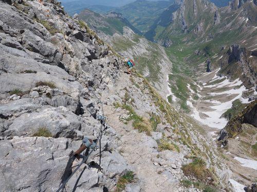 lenses ridge wanderin climb