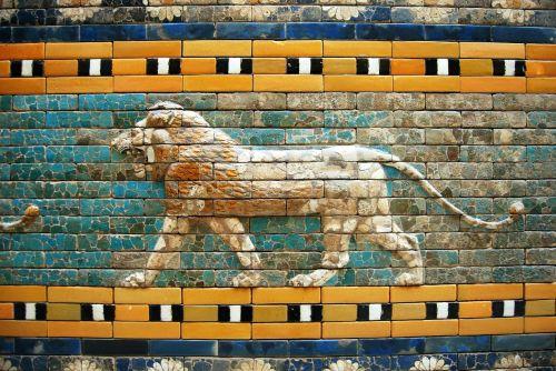 leo mosaic art