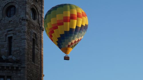 leon hot-air ballooning trip