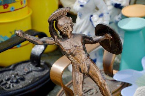 leonidas of sparta  greek statue  the small cabinet maker