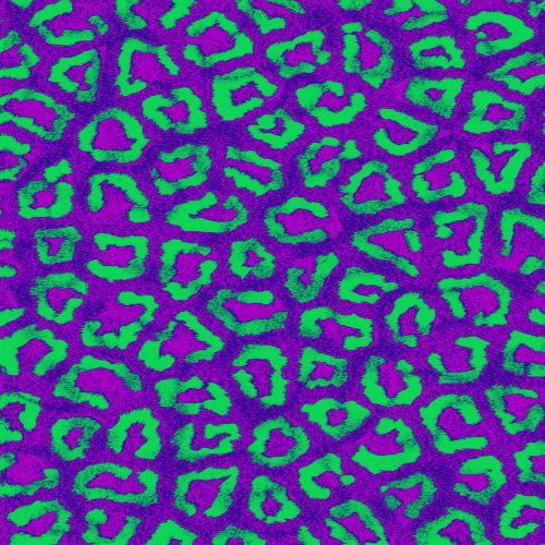 Colored Leopard # 3
