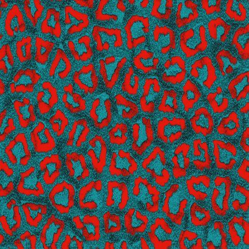 Colored Leopard # 5