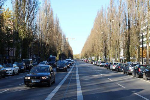leopold street munich autos
