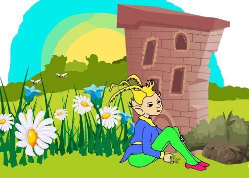 leprechaun elf garden