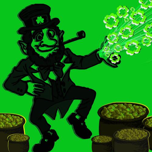 leprechaun irish luck