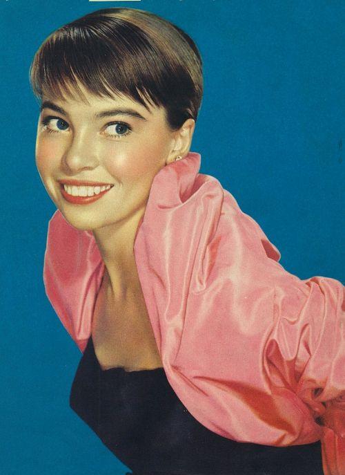 leslie caron actress vintage
