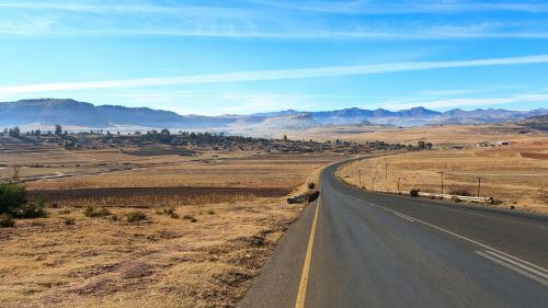 lesotho africa road