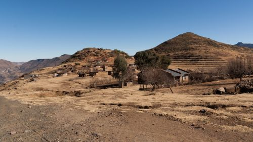lesotho africa mountains
