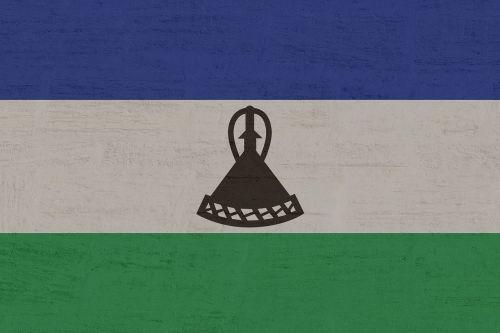 lesotho flag lesoto