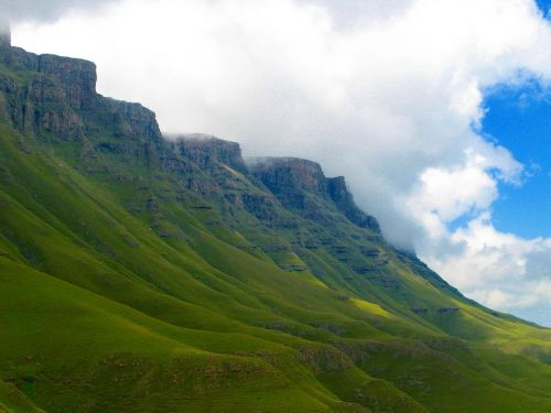 lesotho mountains scenic