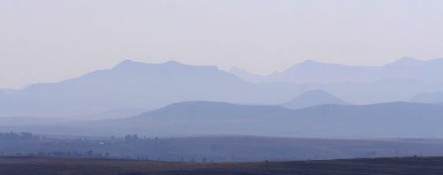 lesotho morgenstimmung landscape