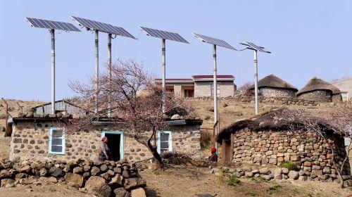 lesotho bergdorf solar energy