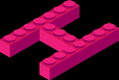letter alphabet piece