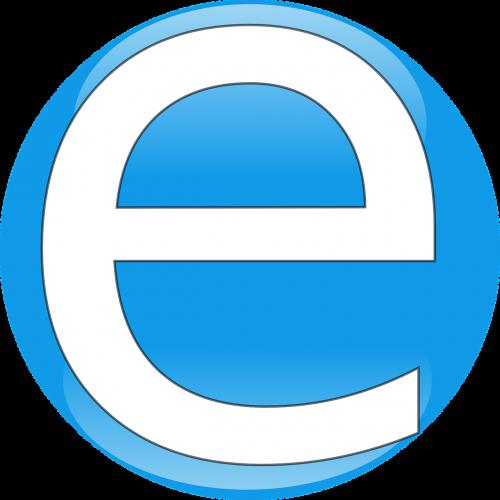 letter alphabet e