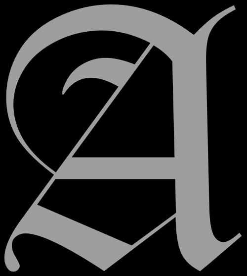 letter capital alphabet