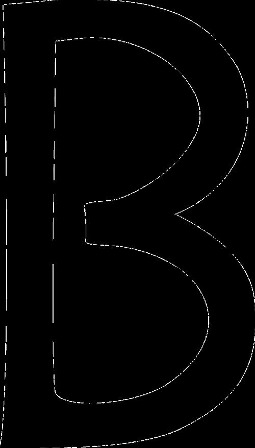 letter b type