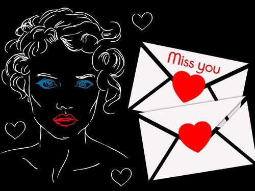 letter  dedicated  surprise