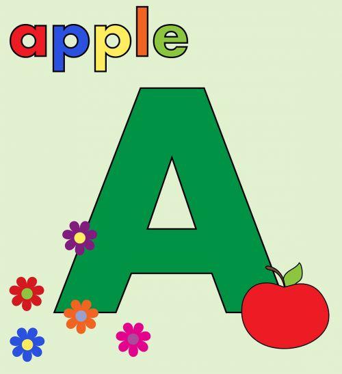 letter a alphabet letter a a
