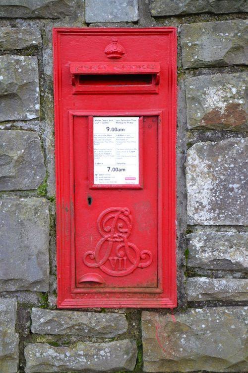 letter box red postal