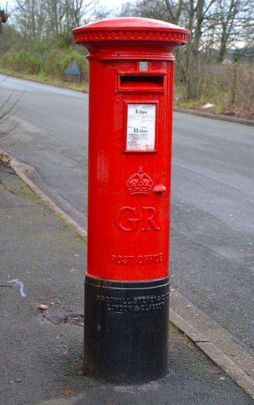 letter box mail box red