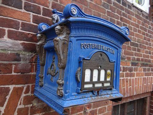letter boxes mailbox blue
