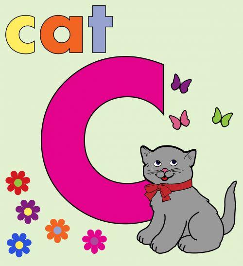 letter c c alphabet letter c