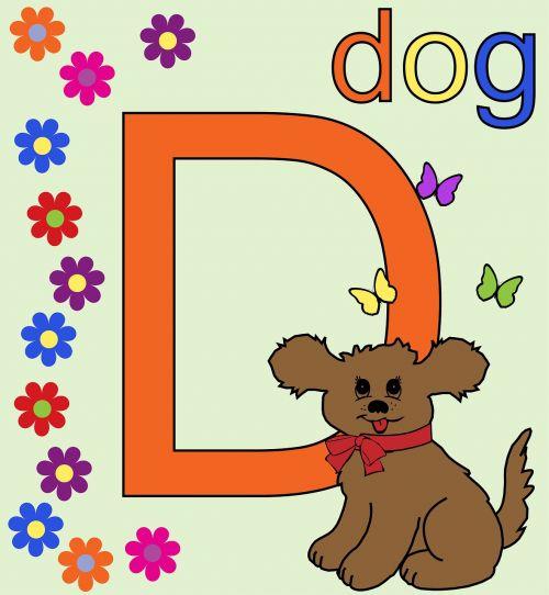 letter d d alphabet letter d